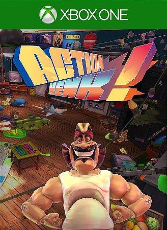 Action Henk Xbox One Código de Resgate 25 Dígitos
