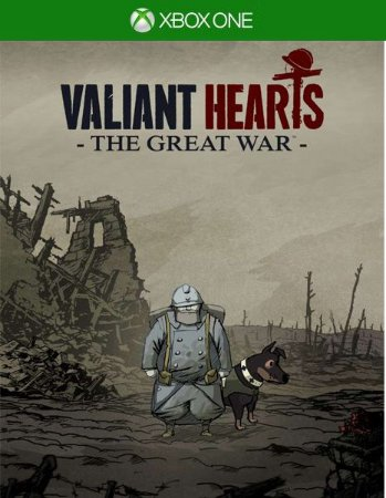 Valiant Hearts The Great War Xbox One Código de Resgate 25 Dígitos