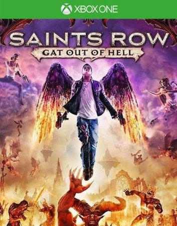 Saints Row Gat Out Of Hell Xbox One Código de Resgate 25 Dígitos