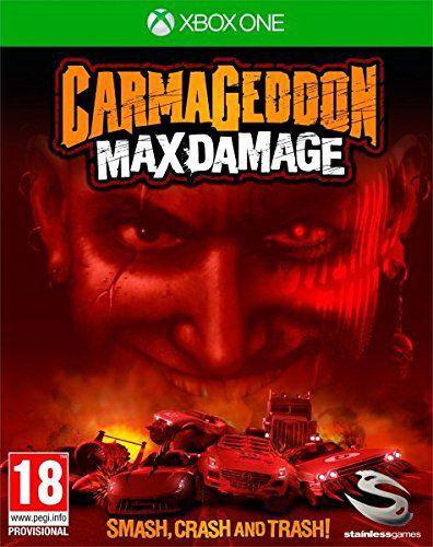 Carmageddon Max Damage Xbox One Código de resgate 25 Digitos
