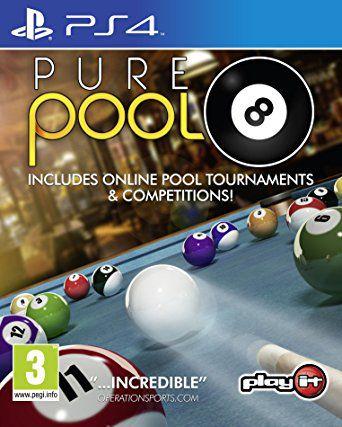 Pure Pool Snooker Bundle  PS4 PSN Mídia Digital