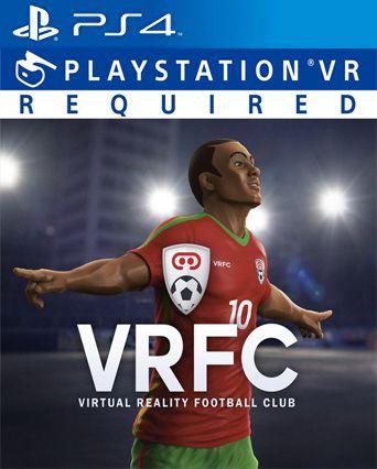 VRFC Virtual Reality Football Club VR PS4 PSN Mídia Digital