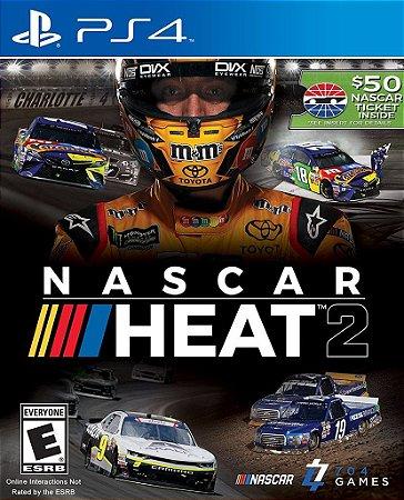 NASCAR Heat 2 Ultimate Edition PS4 PSN Mídia Digital