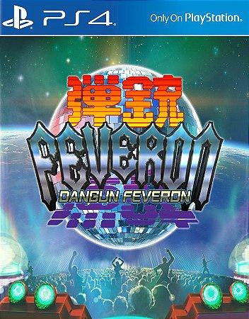 Dangun Feveron PS4 PSN Mídia Digital