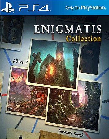 Enigmatis Collection  PS4 PSN Mídia Digital
