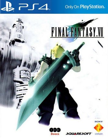 FINAL FANTASY 7 VII PS4 PSN MÍDIA DIGITAL