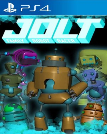 Jolt Family Robot Racer PS4 PSN Mídia Digital
