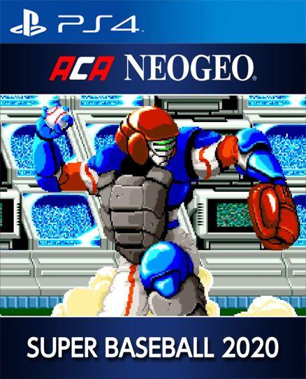 ACA NEOGEO 2020 SUPER BASEBALL PS4 PSN Mídia Digital