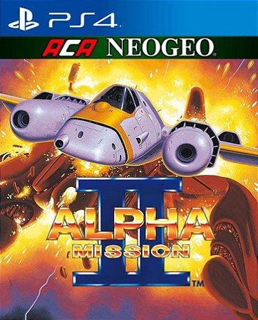 ACA NEOGEO ALPHA MISSION II  PS4 PSN Mídia Digital