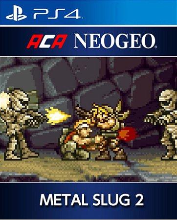ACA NEOGEO METAL SLUG 2 PS4 PSN Mídia Digital