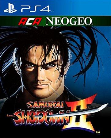 ACA NEOGEO SAMURAI SHODOWN II  PS4 PSN Mídia Digital