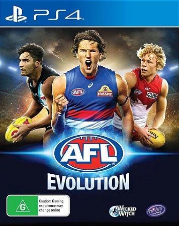 AFL Evolution PS4 PSN Mídia Digital
