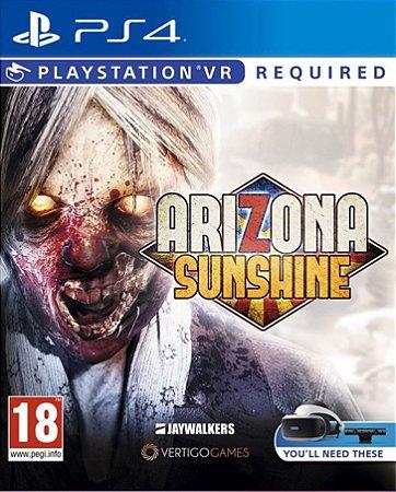 Arizona Sunshine VR PS4 PSN Mídia Digital