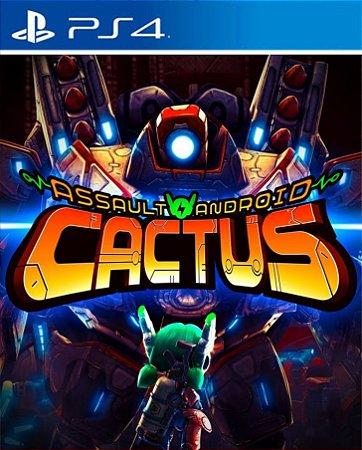 Assault Android Cactus PS4 PSN Mídia Digital