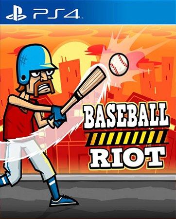 Baseball Riot  PS4 PSN Mídia Digital