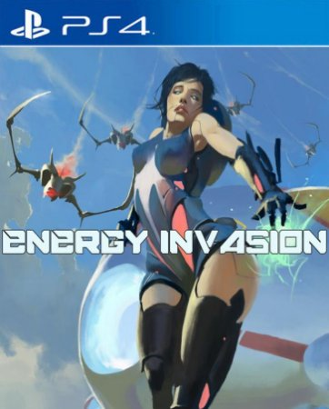 Energy Invasion PS4 PSN Mídia Digital