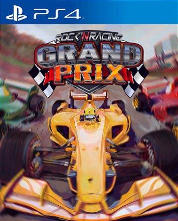 Grand Prix Rock 'N Racing PS4  PSN Mídia Digital