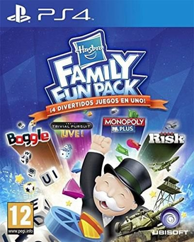 Hasbro Family Fun Pack  PS4 PSN Mídia Digital