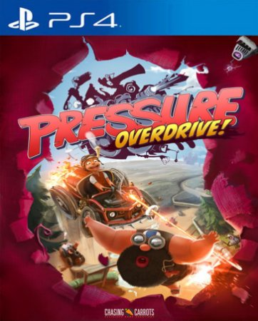 Pressure Overdrive PS4 PSN Mídia Digital