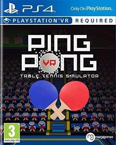 VR Ping Pong PS4 PSN Mídia Digital