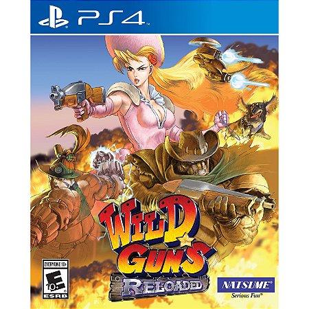 Wild Guns Reloaded PS4 PSN Mídia Digital