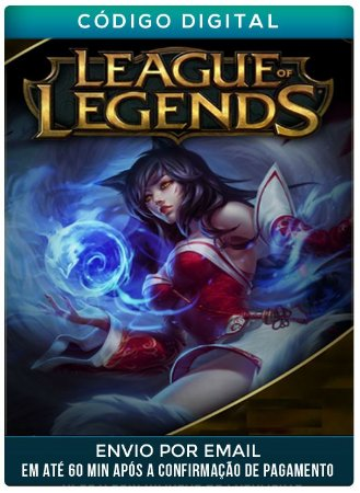 League Of Legends 1100 RPs Riot Points