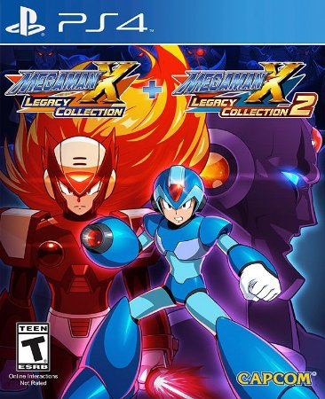 Mega Man X Legacy Collection 1+2 PS4 PSN Mídia Digital