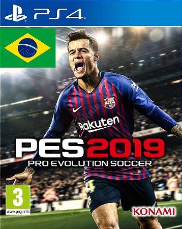 PES 19 Pro Evolution Soccer 2019 PS4  PSN Mídia Digital