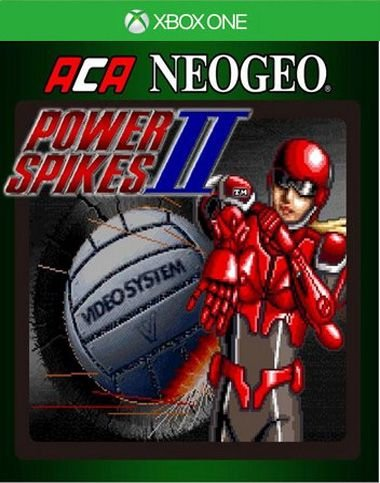 ACA NEOGEO POWER SPIKES II Xbox One Código 25 Dígitos