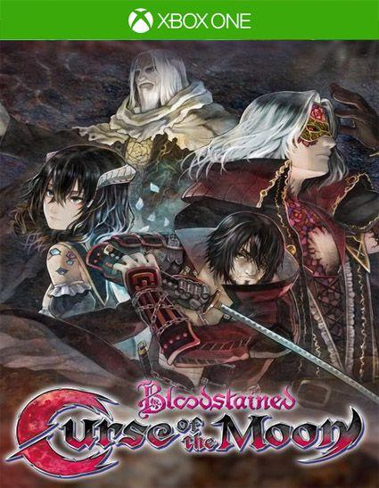 Bloodstained Curse of the Moon Xbox one Código 25 Dígitos