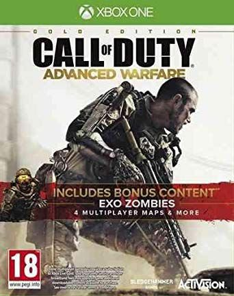 Gold Edition de Call of Duty Advanced Warfare   Xbox One Código de Resgate 25 Dígitos