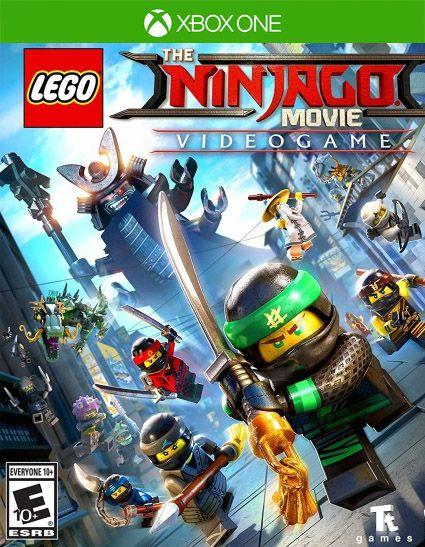 LEGO NINJAGO O Filme Video Game Xbox One Código de Resgate 25 Dígitos