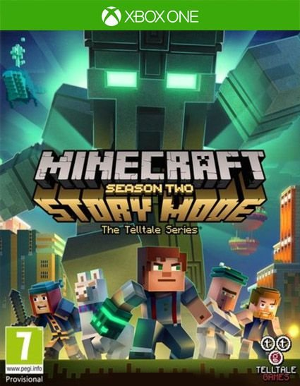 Minecraft: Story Mode - Season Two - The Complete Season (Episodes 1-5) Xbox One Código de Resgate 25 Dígitos