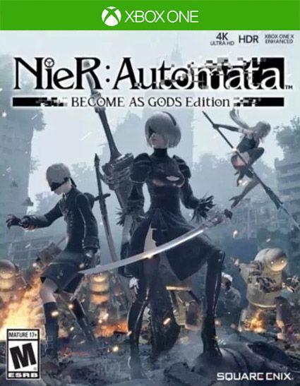 NieR:Automata BECOME AS GODS Edition Xbox One Código de Resgate 25 Dígitos