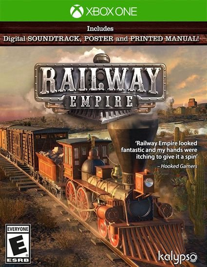 Railway Empire  Xbox One Código 25 Dígitos