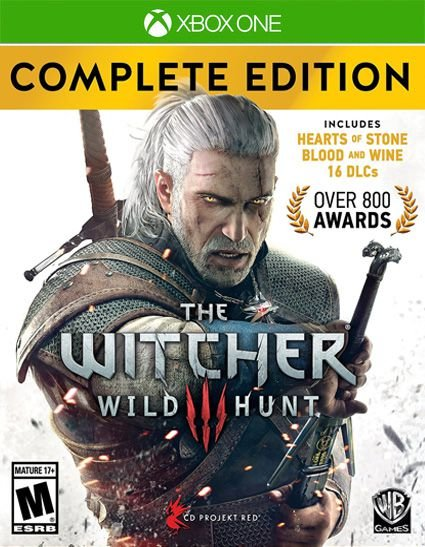 The Witcher 3: Wild Hunt  Complete Edition Xbox One Código 25 Dígitos