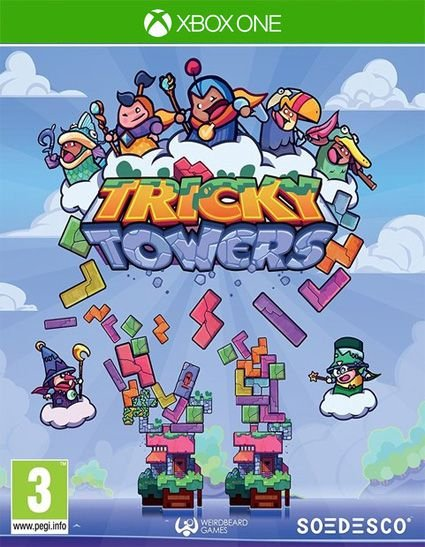 Tricky Towers  Xbox One Código 25 Dígitos