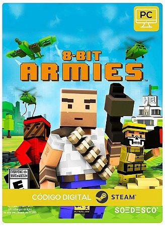 8-Bit Armies Steam CD Key Pc Steam Código De Resgate Digital