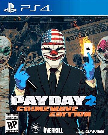 Payday 2 Crimewave Edition  PS4 PSN Mídia Digital