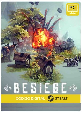 Besiege  Steam CD key PC Código De Resgate Digital