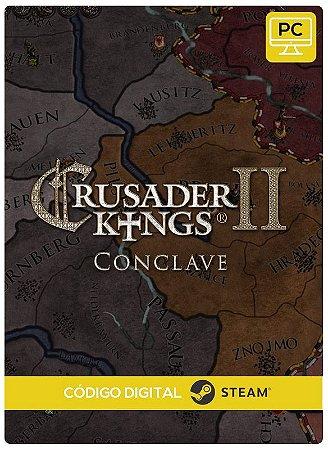 Crusader Kings II - Conclave DLC PC cd-key Steam Código de Resgate digital