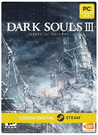 Dark Souls III - Ashes of Ariandel PC DLC cd-key Steam Código de Resgate digital