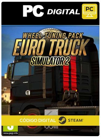 Euro Truck Simulator 2 Wheel Tuning Pack  DLC Steam Pc Código De Resgate Digital