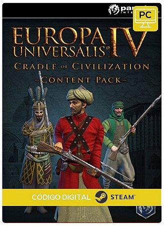 Europa Universalis IV - Cradle of Civilization Content Steam Pc Código De Resgate Digital