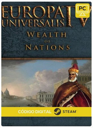 Europa Universalis IV - Wealth of Nations Expansion  Steam  Pc Código De Resgate Digital