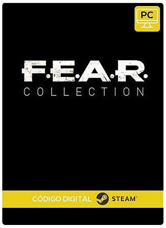 F.E.A.R. Collection PC Steam cdkey Código De Resgate Digital