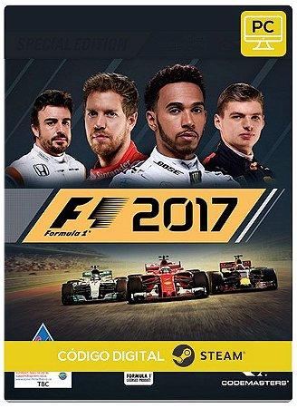 F1 2017 Pc Steam cdkey Código De Resgate Digital