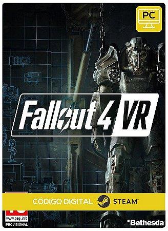 Fallout 4 VR Steam CD Key  PC Steam Código de Resgate digital