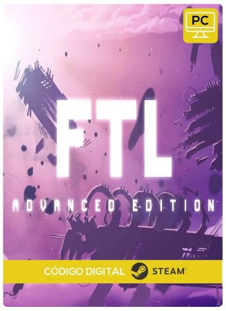 FTL: Advanced Edition Steam  CD Key Pc Steam Código De Resgate Digital