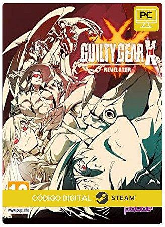 GUILTY GEAR Xrd REVELATOR DELUXE Edition  Steam  CD Key Pc Steam Código De Resgate Digital